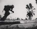 Men of US 2nd Marine Division fighting on Tarawa, Gilbert islands, Nov 1943