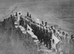 Japanese troops on the Great Wall, near Jinzhou, Liaoning Province, China, 1932