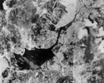 Aerial photo of Nagasaki, Japan, mid-1945