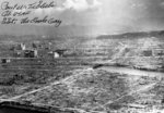 Desolated landscape of Hiroshima, Japan after the atomic detonation, post-war, photo 1 of 2; note Paul Tibbet