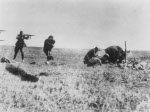 German soldier executing Ukranian mother and child, Ivangorod, Ukraine, 1942