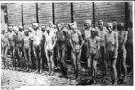 Soviet prisoners of war during roll call, Mauthausen Concentration Camp, Austria, date unknown
