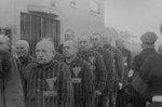 Prisoners in the concentration camp at Sachsenhausen, Germany, 19 Dec 1938