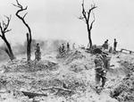 Scraggy Hill/Ito Hill after fierce fighting, near Imphal, India, Apr 1944