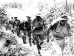 Stilwell marching out of Burma, May 1942