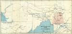 Map depicting the transportation routes in the China-Burma-India theater, 1942-1943