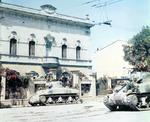 American M4 Sherman tanks in Italy, 1944