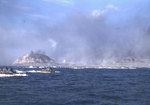 LVTs headed for landing beaches on Iwo Jima, 19 Feb 1945