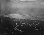 The first wave of landing craft at Iwo Jima, 19 Feb 1945, photo 1 of 6