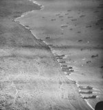 Aerial photograph of Iwo Jima