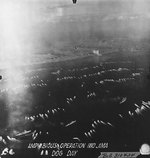 The first wave of landing craft at Iwo Jima, 19 Feb 1945, photo 5 of 6