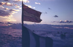 Landing craft underway off Iwo Jima, circa Feb 1945, photo 2 of 2