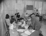 Placement Office at Jerome War Relocation Center, Arkansas, United States, 18 Nov 1942