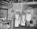 Staff of the Block 7 kitchen, Jerome War Relocation Center, Arkansas, United States, 18 Nov 1942