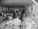 Cooperative store in Block 8 of Jerome War Relocation Center, Arkansas, United States, 17 Nov 1942