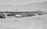Impounded cars owned by Japanese-Americans, Manzanar Relocation Center, California, United States, 2 Apr 1942