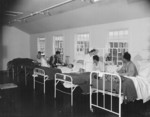 First ward of the hospital at Jerome War Relocation Center, Arkansas, United States, 17 Nov 1942