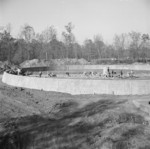 Construction of the sewage disposal plant at Jerome War Relocation Center, Arkansas, United States, 14 Nov 1942, photo 5 of 5