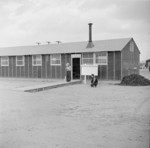 Employment office building, Jerome War Relocation Center, Arkansas, United States, 17 Nov 1942