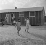 Field clinic building, Jerome War Relocation Center, Arkansas, United States, 17 Nov 1942