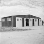 Fire station, Jerome War Relocation Center, Arkansas, United States, 17 Nov 1942