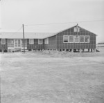 Hospital building, Jerome War Relocation Center, Arkansas, United States, 17 Nov 1942