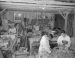 Mechanic shop, Jerome War Relocation Center, Arkansas, United States, 17 Nov 1942