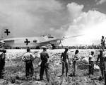 Japanese delegation stopped at Ryukyu Islands en route to Manila for surrender, 19 Aug 1945, 04 of 10