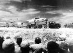 Japanese delegation stopped at Ryukyu Islands en route to Manila for surrender, 19 Aug 1945, 05 of 10