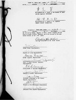 Signature page of the Japanese instrument of surrender