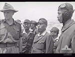 Lieutenant General Masao Baba en route to the official surrender ceremony, Labuan, Borneo, 10 Sep 1945, photo 3 of 3