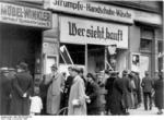 Destroyed Jewish shop in Magdeburg, Germany, 9 Nov 1938, photo 3 of 7