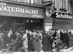 Destroyed Jewish shop in Magdeburg, Germany, 9 Nov 1938, photo 5 of 7