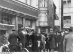 Destroyed Jewish shop in Magdeburg, Germany, 9 Nov 1938, photo 7 of 7