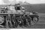 German Panzer III crew of 2nd SS Panzer Division