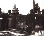 Chinese troops defending Lugou Bridge, Jul 1937