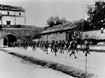 Chinese troops in Wanping, China, Jul 1937