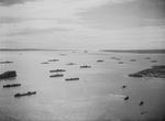 British ships at Diego-Suárez, Madagascar, 13 May 1942