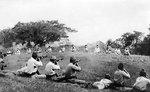 Sikh prisoners executed by Japanese troops, Malaya, circa Dec 1941-Feb 1942