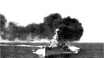 Italian cruiser Bolzano, during the Battle of Cape Spartivento, 27 Nov 1940