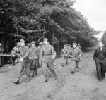 A group of German prisoners at Wolfheze, Gelderland, the Netherlands, 17 Sep 1944