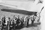 British troops of the 1st Airborne Division boarding their aircraft for Operation Market Garden, 17 Sep 1944