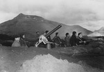 US Navy personnel at Dutch Harbor, Alaksa, United States, 3-4 Jun 1942
