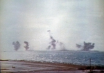 Eastern Island of Midway Atoll under attack, 4 Jun 1942