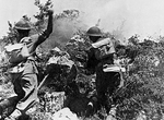 Troops of Polish 2nd Corps fighting near Cassino, Italy, May 1944