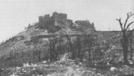 Monte Cassino monastery in ruins, Italy, Feb 1944, photo 3 of 3