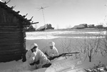 Soviet signal troops near Moscow, Russia, 1 Dec 1941
