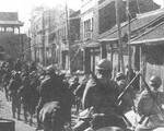 Japanese troops in Mukden, Liaoning Province, China, 18 Sep 1931