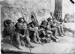 Japanese troops taking a break in northeastern China, circa Sep-Oct 1931