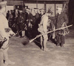 Japanese troops disarming Chinese soldiers in northeastern China, circa Sep-Oct 1931
